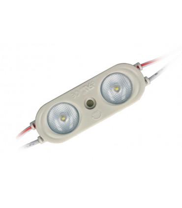MODUŁ LED LINE OPTO 2X SMD2835 12V 2W 6000-6500K