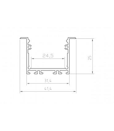 Profil LED - P22-1