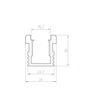 Profil LED - P24-1