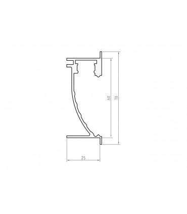 Profil LED - P26-2