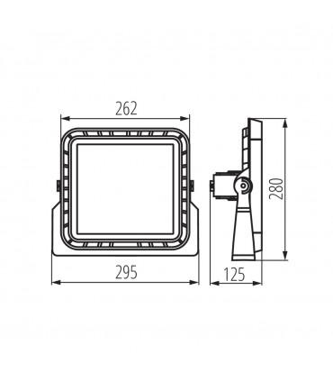 Naświetlacz LED FLM LED 100W-NW-60D