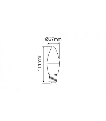 LED LINE E27 SMD 170-250V 7W 630LM 2700K C37