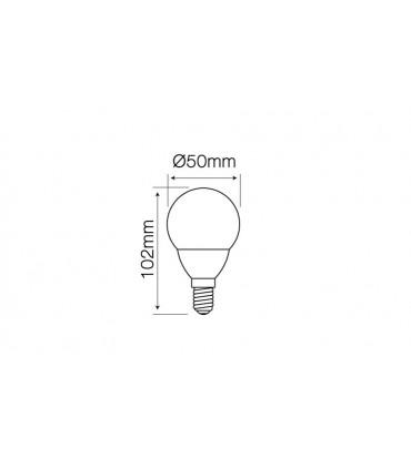 LED LINE E14 SMD 170-250V 7W 630LM 4000K G50