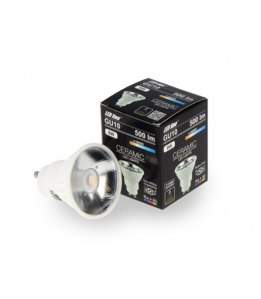 LED LINE GU10 COB 170-250V 8W 500LM 4000K 12°