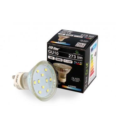LED LINE GU10 SMD 220-260V 3W 273LM 120° 6500K