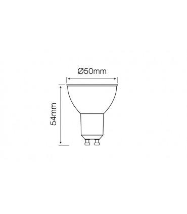 LED LINE GU10 SMD 220-240V 5,5W 500LM 60° 2700K DIM