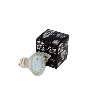LED LINE GU10 SMD 220-260V 1W 20LM ZIELONA