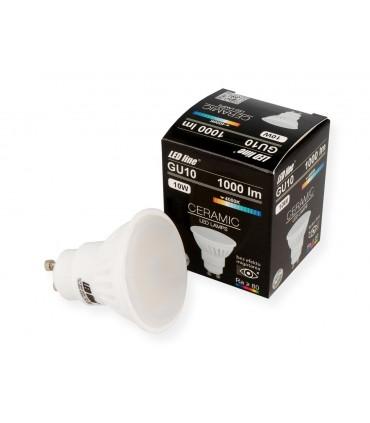LED LINE GU10 SMD 170-250V 10W 1000LM 4000K