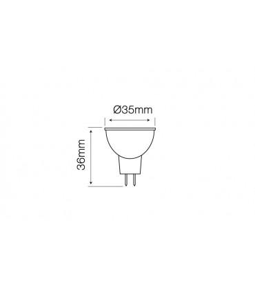 LED LINE MR11 SMD 10-14V AC/DC 3W 255LM 6000K 38°