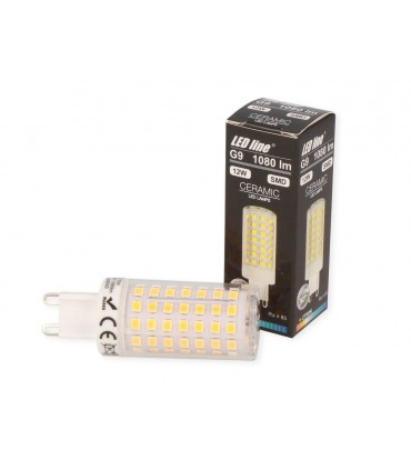 LED LINE G9 220-240V 12W 1080LM 2700K