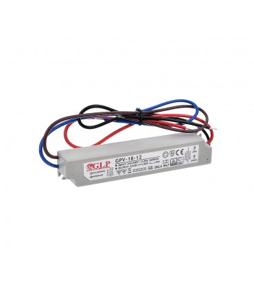 Zasilacz napięciowy hermetyczny IP67 12V 1.5A 18W GLP GPV-18-12