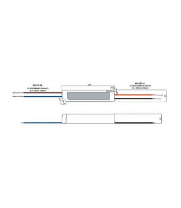 Zasilacz napięciowy hermetyczny IP67 12V 2A 24W GLP GPV-20-12