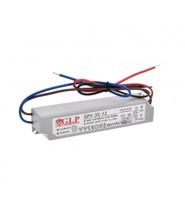 Zasilacz napięciowy hermetyczny IP67 12V 3A 36W GLP GPV-35-12