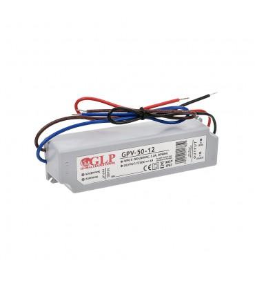 Zasilacz napięciowy hermetyczny IP67 12V 4A 48W GLP GPV-50-12