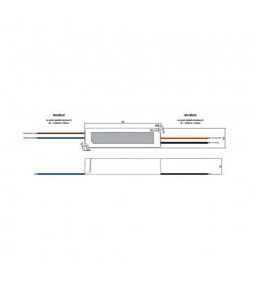 Zasilacz napięciowy hermetyczny IP67 12V 5A 60W GLP GPV-60-12