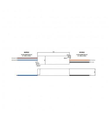 Zasilacz napięciowy hermetyczny IP67 12V 6A 72W GLP GPV-75-12