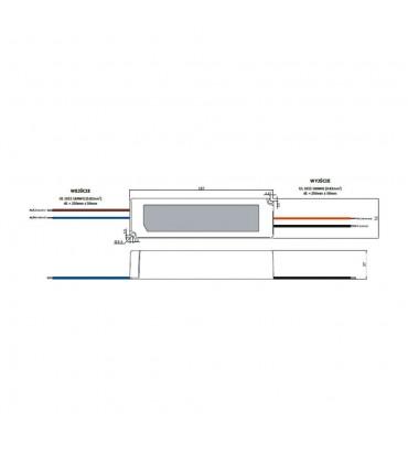 Zasilacz napięciowy hermetyczny IP67 12V 8.3A 100W GLP GPV-100-12