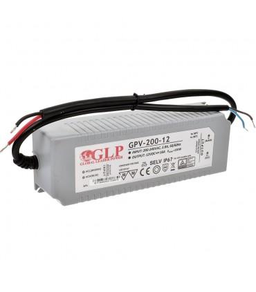 Zasilacz napięciowy hermetyczny IP67 12V 16A 192W GLP GPV-200-12