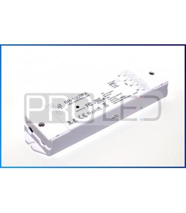 WIELOSTREFOWY KONTROLER SR1009FA DO TAŚM LED RGB+W RADIOWY RF 240W - DO 8 STREF