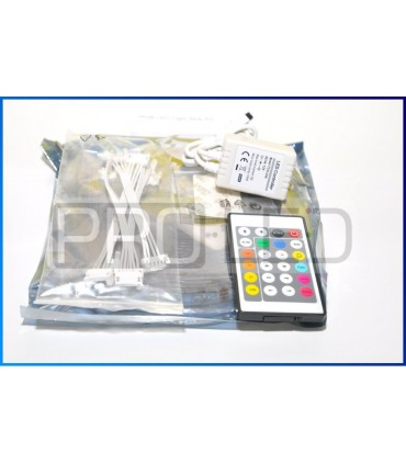 TAŚMA LED EPISTAR PREMIUM 5050 - 150 DIOD RGB CYFROWA + STEROWNIK