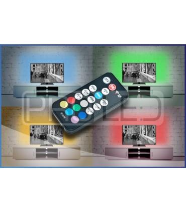 ZESTAW LED DO PODŚWIETLENIA TELEWIZORA KOLOROWY RGB 55cali