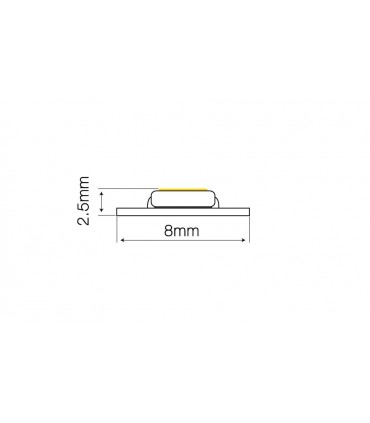TAŚMA LED LINE 60SMD3528/1M 12V 2865-3025K 30M