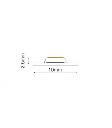 TAŚMA LED LINE 1500 SMD2216 12V 2700-2868K