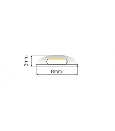 TAŚMA LED LINE 600 SMD2216 12V 6200-6700K IP65