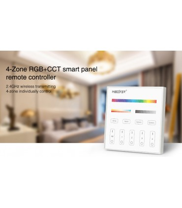 T4 - Mi-Light - Panel naścienny RGB+CCT (230V)