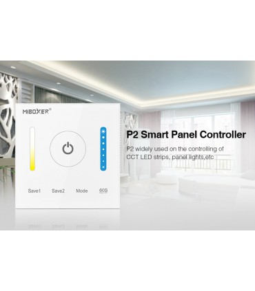 P2 - Mi-Light - Kontroler naścienny do taśm LED CCT