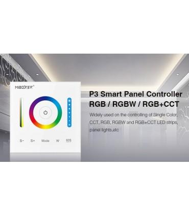 P3 - Mi-Light - Kontroler naścienny do taśm LED RGB+CCT