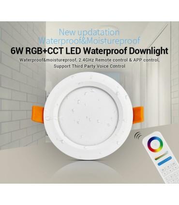 FUT063 - Mi-Light - DOWNLIGHT 6W RGB+CCT IP65
