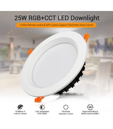 FUT060 - 25W RGB+CCT LED Downlight
