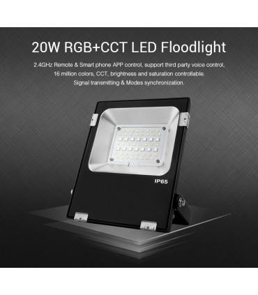 FUTT04 - Mi-Light - FLOODLIGHT 20W RGB+CCT
