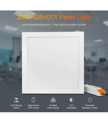FUTL03 - 20W RGB+CCT Panel Light