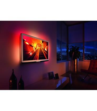 ZESTAW LED DO PODŚWIETLENIA TELEWIZORA KOLOROWY RGBW - BIAŁY ZIMNY - DO 65 CALI