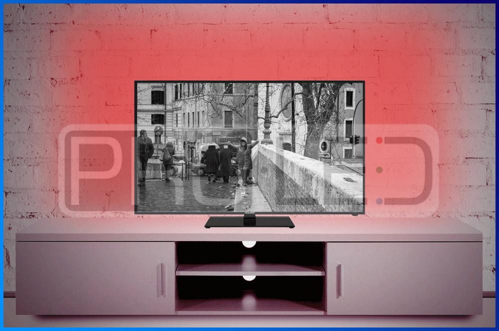 podswietlenie led telewizora
