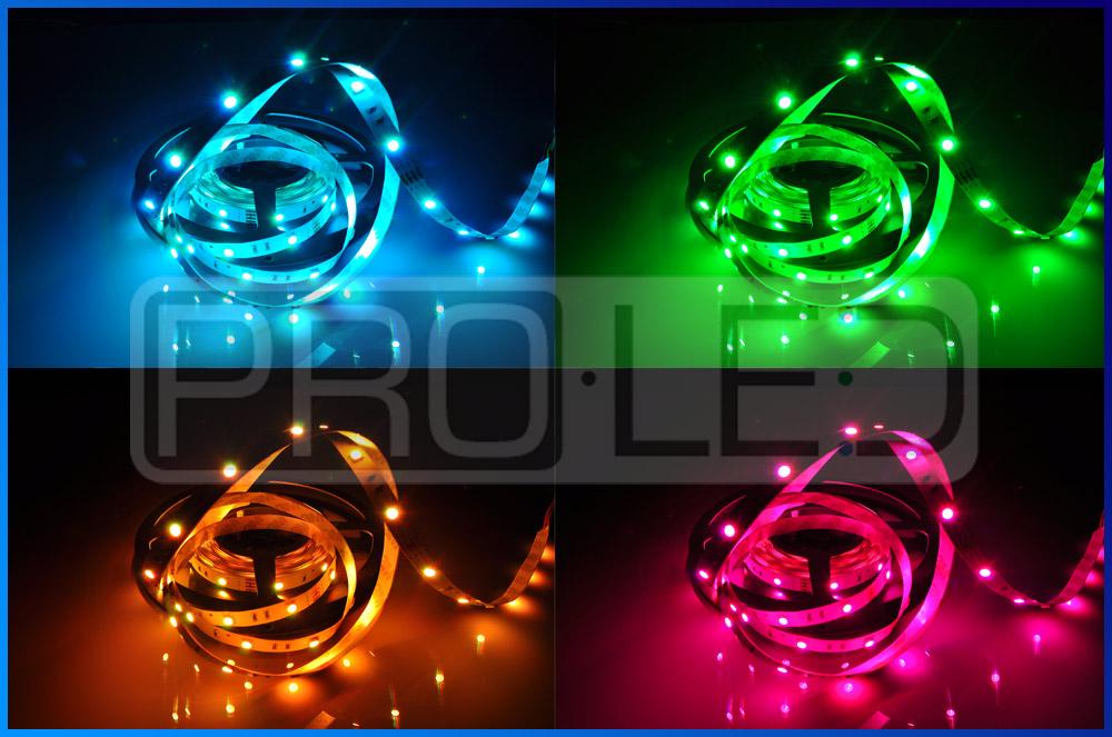 Taśma LED epistar profesjonalna RGB 150 LED standard